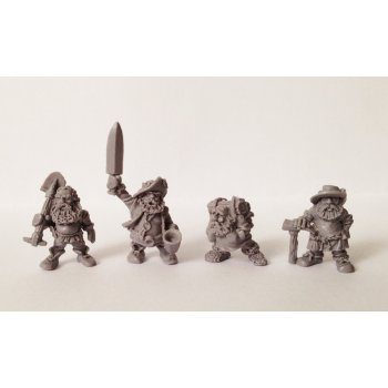 Dwarf sappers team