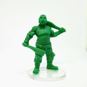 Machete team (green)