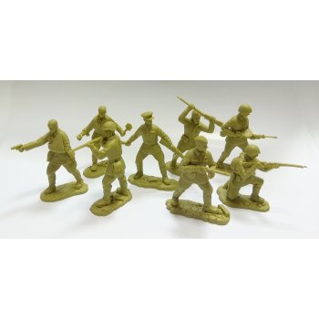 Soviet Infantry WWII (olive green khaki)