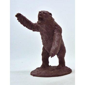 Bear attacking
