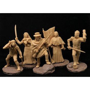 Heroes of Bolivian revolutions №1 (beige)