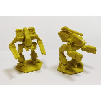 Warthog and Matador - yellow