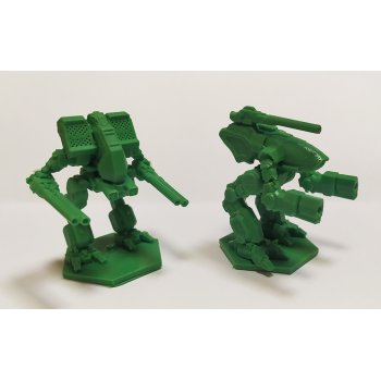 Warthog and Matador - green