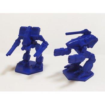 Warthog and Matador - blue