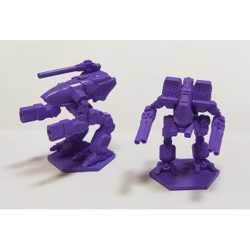 Warthog and Matador - violet